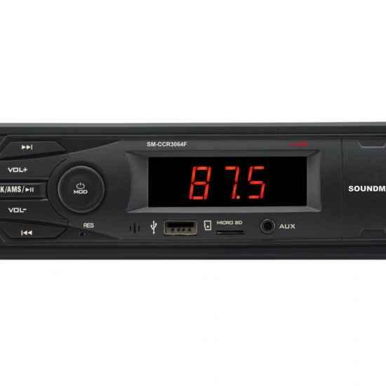 Автомагнитола 1DIN Soundmax SM-CCR3064F