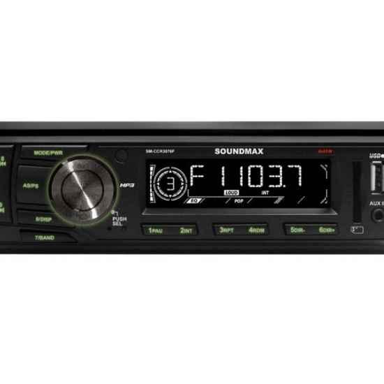 Автомагнитола 1DIN Soundmax SM-CCR3076F