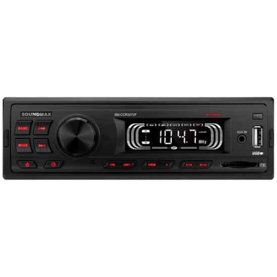 Автомагнитола 1DIN Soundmax SM-CCR3072F